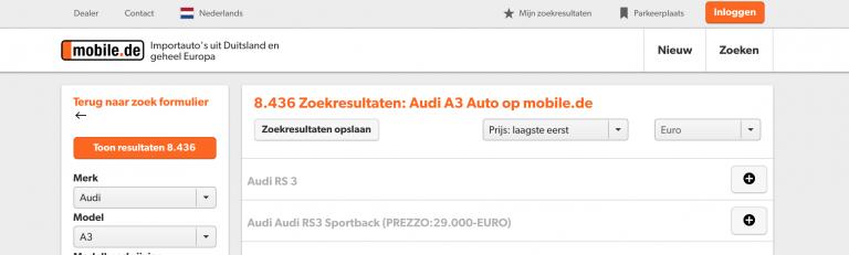 mobile.de-zoekresultaten-opslaan